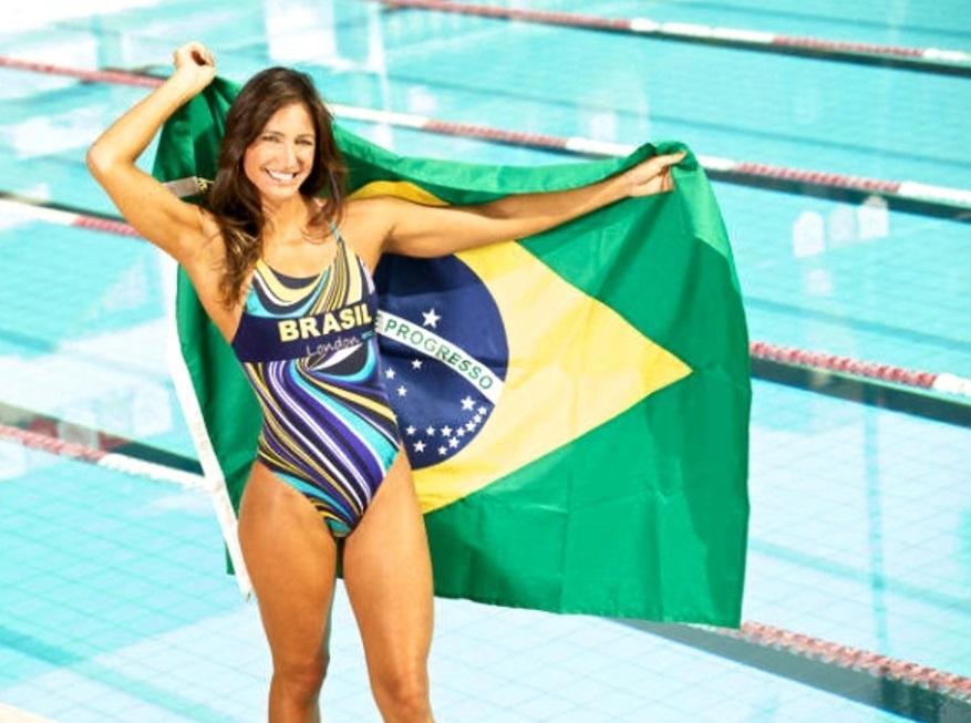 22 de maio - Fabíola Molina, nadadora brasileira