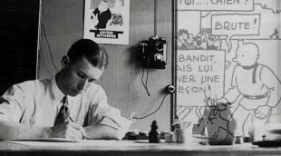 22 de maio - Hergé, criador da série de história em quadrinhos As Aventuras de Tintim