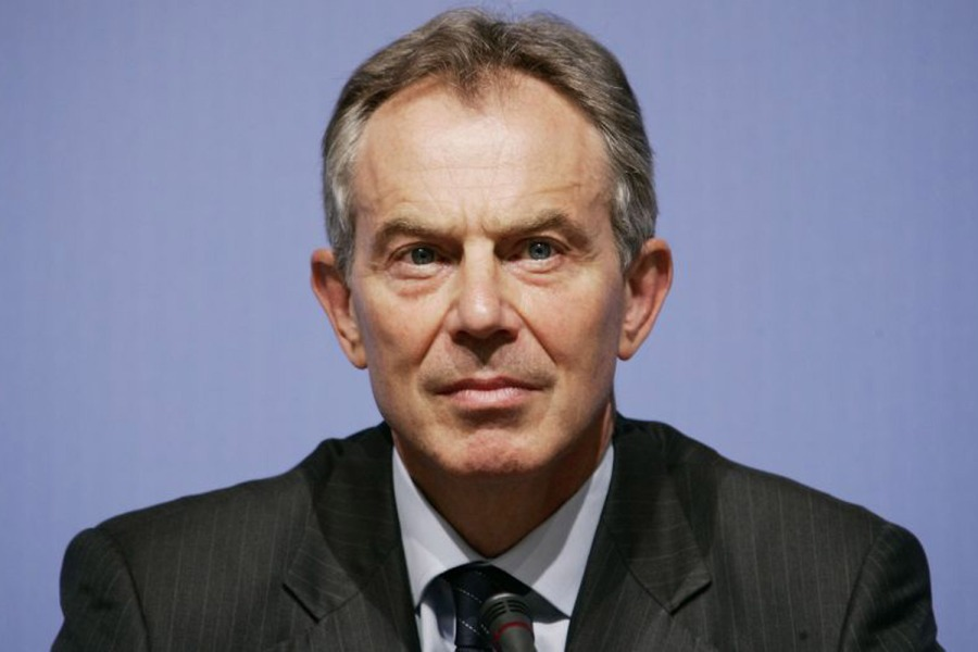 6 de maio - Tony Blair