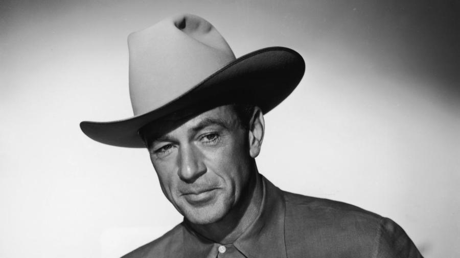 Portrait Of Gary Cooper