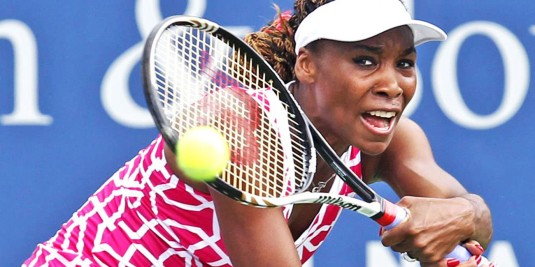 17 de junho - Venus Williams, tenista estado-unidense