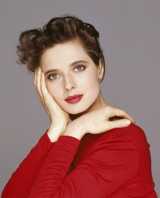 18 de junho - Isabella Rossellini, atriz italiana