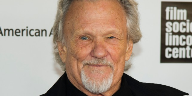 Kris Kristofferson attends the Film Society of Lincoln Center's 40th Annual Chaplin Award Gala honoring Barbra Streisand on Monday, April 22, 2013 in New York. (Photo by Charles Sykes/Invision/AP)