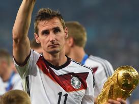 9 de junho - Miroslav Klose, futebolista alemão de origem polonesa