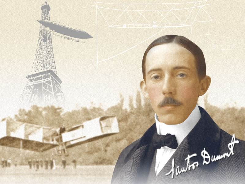 20 de Julho - Alberto Santos Dumont, pioneiro da aviação brasileira