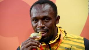 21 de Agosto - Usain Bolt, atleta jamaicano