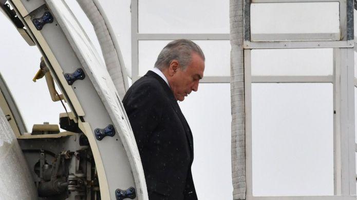 Ano será de desafios para o presidente Michel Temer -AFP