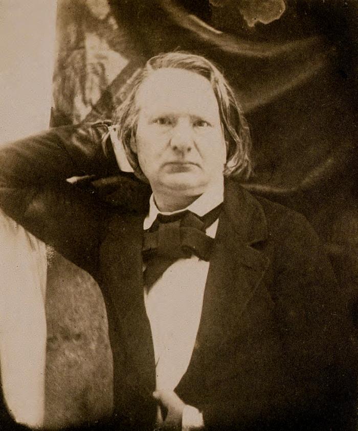 Victor Hugo, escritor francês, em 1853.