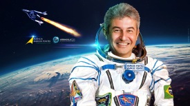 11 de Março - Marcos Pontes - astronauta, cosmonauta brasileiro.
