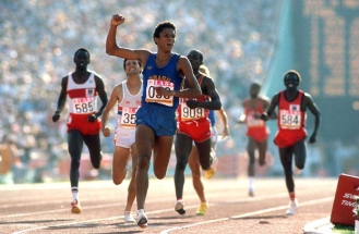 12 de Março - Joaquim Cruz - atleta, medalhista olímpico brasileiro.