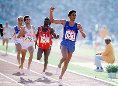 12 de Março - Joaquim Cruz - ex-atleta, medalhista olímpico brasileiro.