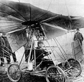 18 de Março - 1906 - A aeronave de Traian Vuia.