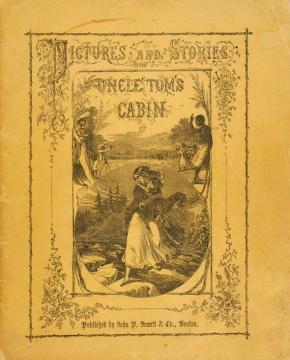 20 de Março - 1852 — É publicado A cabana do Pai Tomás da escritora estadunidense - Harriet Beecher_UncleTomsCabin_Jewett