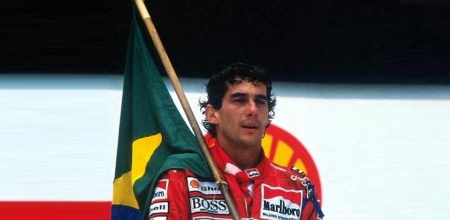21 de Março - Ayrton Senna, bandeira do Brasil