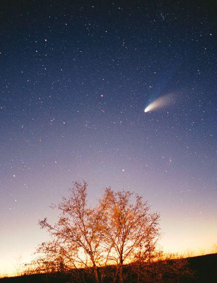 22 de Março - 1997 - O cometa Hale-Bopp.