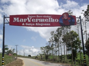 25 de Março - Mar Vermelho (Alagoas) - Portal de Entrada da Cidade.