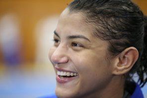 26 de Março - 1990 — Sarah Menezes - judoca brasileira.