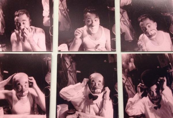 27 de Março - 1897 — Piolin - palhaço brasileiro - caracterização, série de fotos