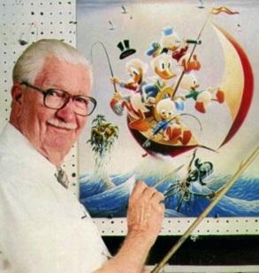 27 de Março - Carl Barks, ilustrador estado-unidense