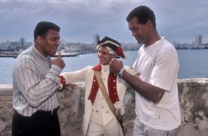 29 de Março - Teófilo Stevenson com Mohamed Ali, jovens