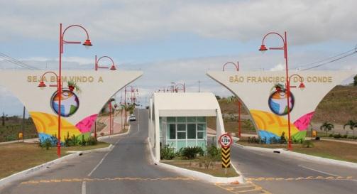 30 de Março - 1938 — São Francisco do Conde (BA) - Portal de entrada e boas vindas da cidade.
