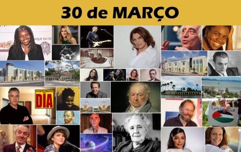 30 de Março - Poster do Dia