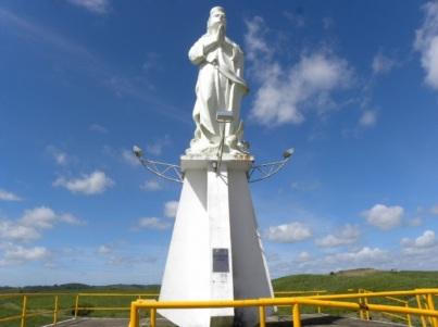 31 de Março - Riachuelo, Sergipe - Monumento, santa padroeira.