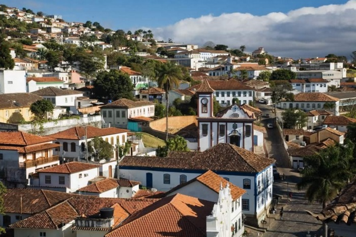 Diamantina, estado de Minas Gerais.