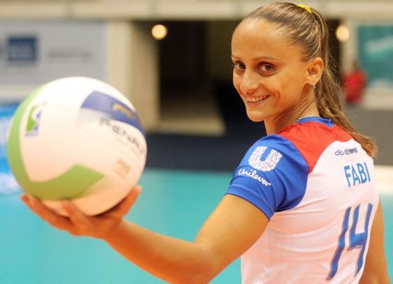 7 de Março - Fabiana de Oliveira - jogadora, brasileira, de vôlei