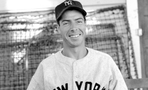 8 de março - Joe DiMaggio jogador de beisebol norte-americano