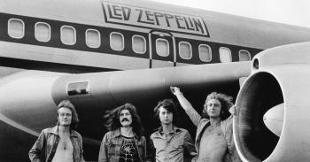 8 de março - Led Zeppelin, banda, avião