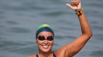8 de março - Poliana Okimoto, maratonista aquática brasileira.