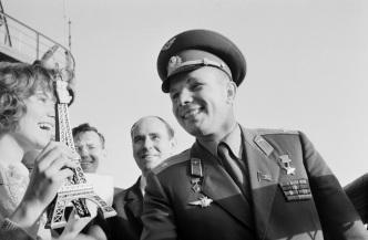 9 de março - Yuri Gagarin - cosmonauta, soviético