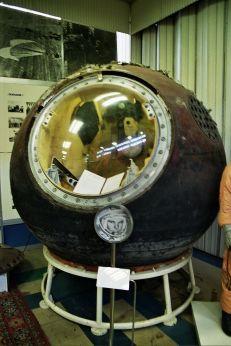 9 de março - Yuri Gagarin - Vostok 1 - a cápsula em que Gagarin efetuou sua ida ao espaço.