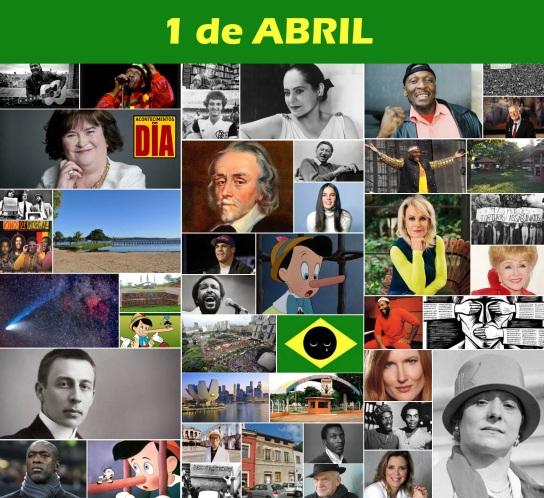 1 de Abril - Poster do Dia