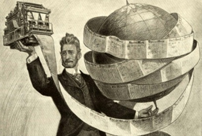 10 de Abril - 1847 — Joseph Pulitzer, jornalista e editor húngaro - The World.