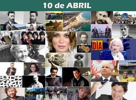 10 de Abril - Poster do Dia