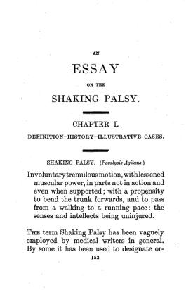 11 de Abril - 1755 - James Parkinson, cirurgião inglês, farmacêutico, geólogo, paleontólogo e ativista político - An_Essay_on_the_Shaking_Palsy.