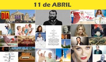 11 de Abril - Poster do Dia
