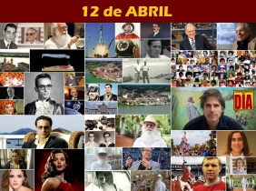 12 de Abril - Poster do Dia