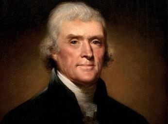 13 de Abril - 1743 — Thomas Jefferson, político estadunidense (m. 1826).