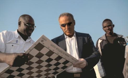 13 de Abril - 1963 - Garry Kasparov - ex-enxadrista, azerbaidjano - Africa.