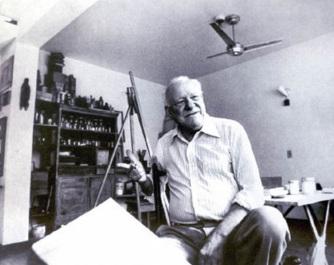 14 de Abril - 1896 — Alfredo Volpi, pintor ítalo-brasileiro (m. 1988).