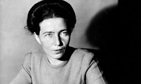 14 de Abril - 1986 - Simone de Beauvoir, escritora e filósofa francesa (n. 1908).
