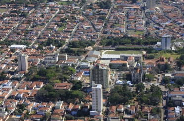 14 de Abril - Botucatu, São Paulo - aérea.