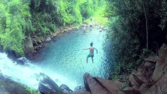14 de Abril - Cachoeira Demétria, em Botucatu, São Paulo.