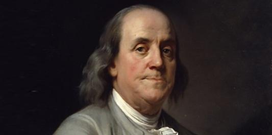 17 de Abril - 1790 — Benjamin Franklin, político, inventor e diplomata norte-americano (n. 1706).