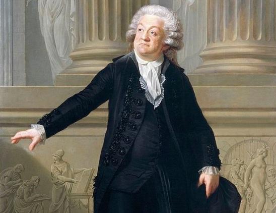 2 de Abril - 1791 — Honoré Gabriel Riqueti de Mirabeau, escritor e orador francês (n. 1749).