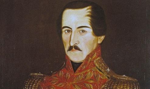 2 de Abril - 1792 — Francisco José de Paula Santander, jurista, revolucionário, militar e e político colombiano.