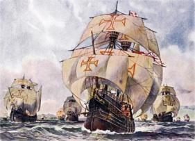 21 de Abril - 1500 – Primeira vez que o Brasil foi avistado por Pedro Álvares Cabral.